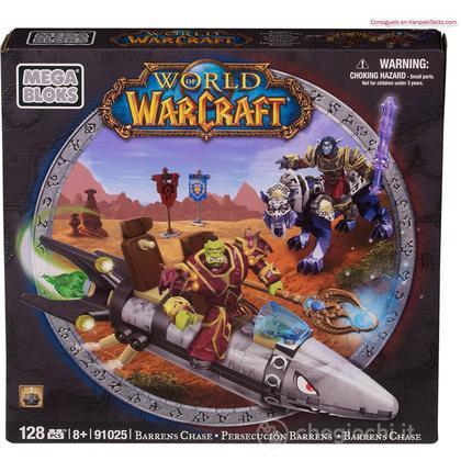 Playset Inseguimento nelle Lande desolate Warcraft (91025)