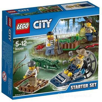 Starter set Polizia missione nelle paludi - Lego City Police (60066)