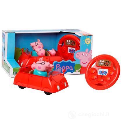 Peppa Pig Macchina con volante RC infrarossi – elettronico (CCP01587)
