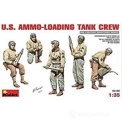 U.S. Ammo Loading Tank Crew 1/35 (MA35190)