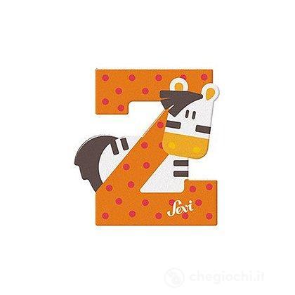 Lettera Z Zebra (83026)
