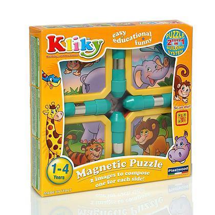 Kliky Puzzle Orange Safari (093850)