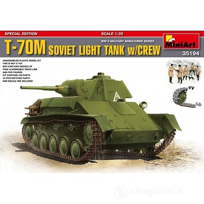 Carro armato T-70 Soviet Light Tank 1/35 (MA35194)