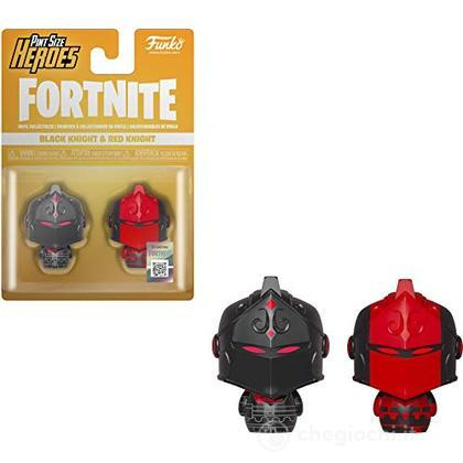 Fortnite - Pint Size Heroes 2pack Black Knight & Red Knight