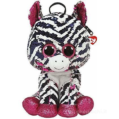 Zoey Sequin Zainetto Zebra glitter
