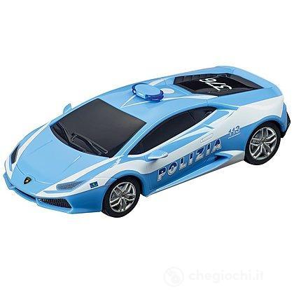 """Auto pista Carrera Lamborghini Huracán LP 610-4 """"Polizia"""" (20064030)"""