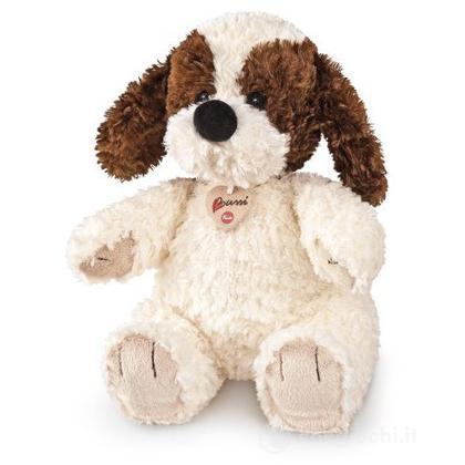 Cane bianco/marrone grande (12030)