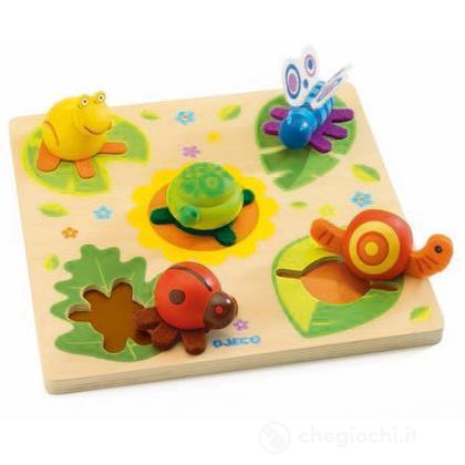 Puzzle 3D Turtle & friends (DJ01031)