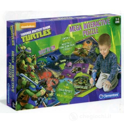 Tappeto gigante interattivo Ninja Turtles (12031)