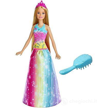 Barbie Principessa Pettina e Brilla con Luci e Suoni (FRB12)