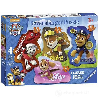 Puzzle 4 in Box Paw Patrol (07032)