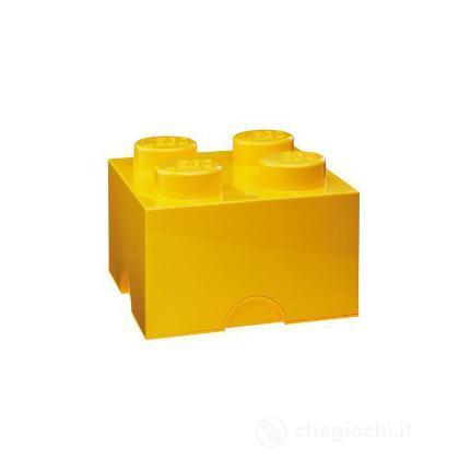 "Scatola da ""4"" gialla"