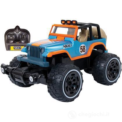 Radiocomando Off Road Jeep Wrangler Scala 1/18