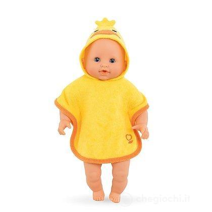 Mantellina bagnetto per bambola di 30 cm