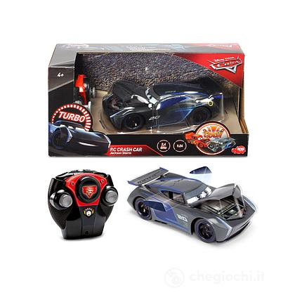 Cars 3 Jackson Storm Crazy Crash Radiocomandato (203084019)