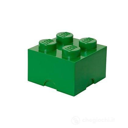 Contenitore LEGO Brick 4 Verde