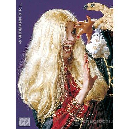 Parrucca bionda strega Morgana