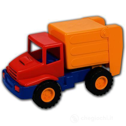 Mini camion operatore ecologico