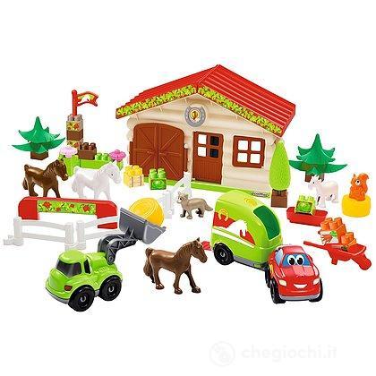 Abrick Centro Ippico, Con 2 Veicoli e 6 Animali
