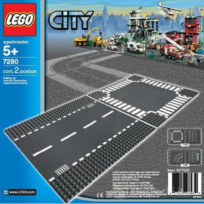 LEGO City - Rettilineo e incrocio (7280)
