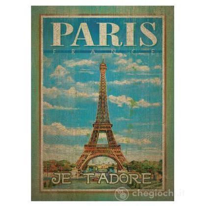 Paris - 500 pezzi Legno (37036)
