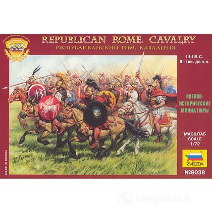 Soldati Cavalleria repubblicana Romana 1/72 (8038)