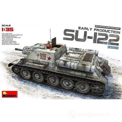 Carro armato SU -122 Early Prod.. Scala 1/35 (MA35181)