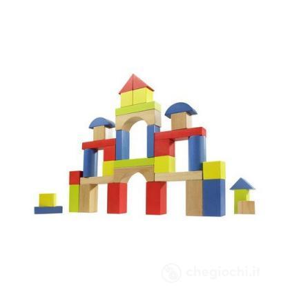 Set blocchi in legno