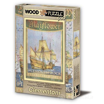 Puzzle Legno Mayflower, 500 pezzi (37039)
