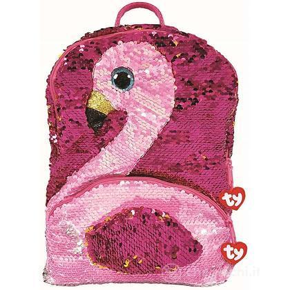 Gilda Sequin Zainetto Fenicottero rosa glitter