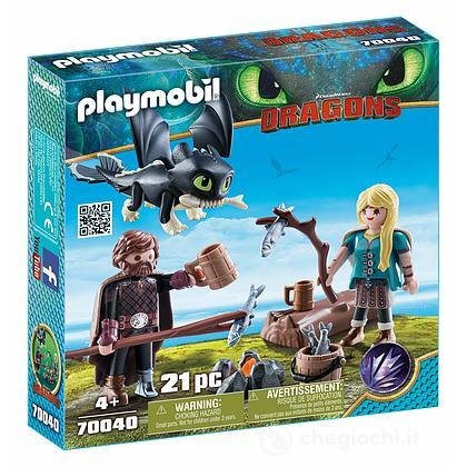Hiccup e Astrid Dragon Trainer III (70040)