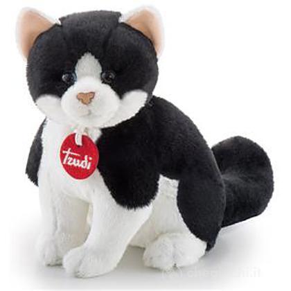 Gatto bianco/nero XS (22040)
