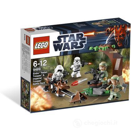 LEGO Star Wars - Endor Rebel Trooper & Imperial Trooper Battle Pack (9489)