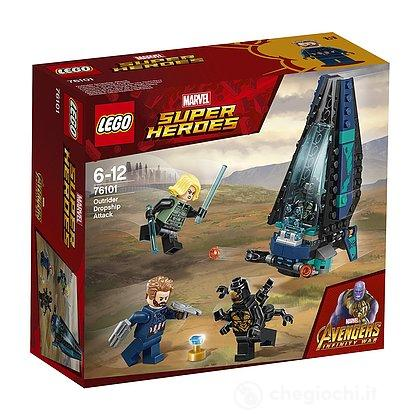 Outrider Dropship Attack - Lego Super Heroes (76101)