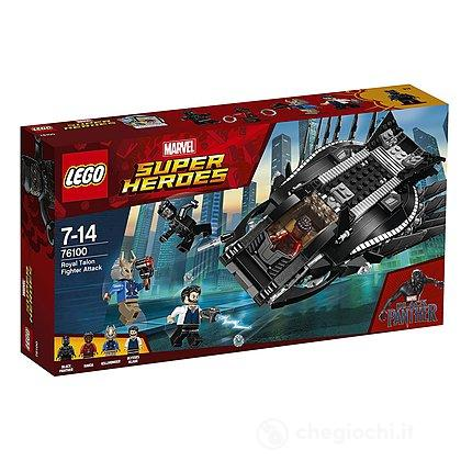 Attacco del Royal Talon Fighter Black Panther - Lego Super Heroes (76100)