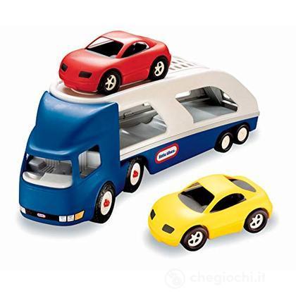 Camion che trasporta 2 auto