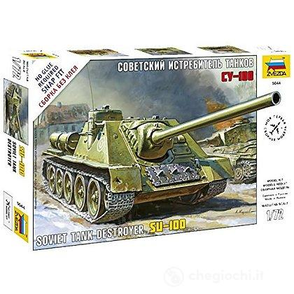 Carro armato Soviet self-propelled gun SU-100 1/72 (5044)