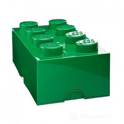 Contenitore LEGO Brick 8 Verde