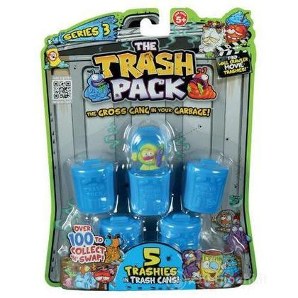 Linea Gig Trash Pack 5 bidoncini con personaggi 68044