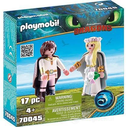 Playset speciale Hiccup e Astrid Dragon Trainer III (70045)