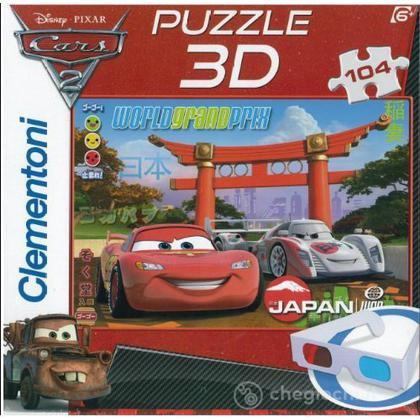 Cars 2 World Grand Prix - 3D Puzzle (20045)