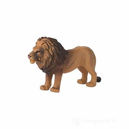 Leone. Animale in plastica con parti snodabili (LCT16046)