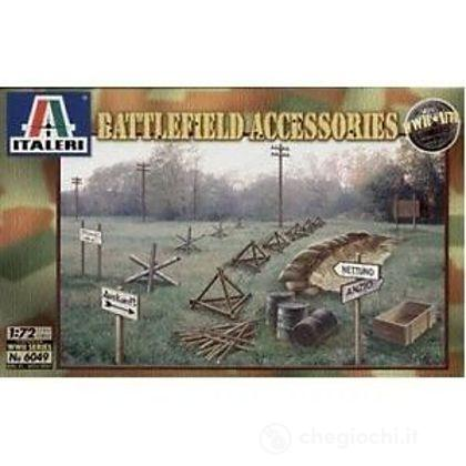 Accessori campo di battaglia 2 Guerra Mondiale