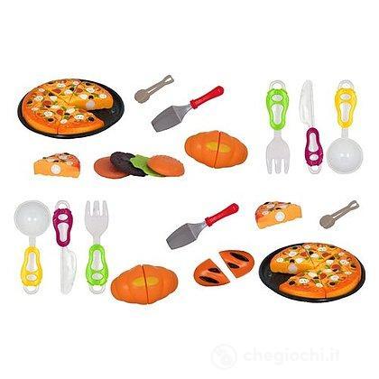 Pizza velcro con accessori (39049)