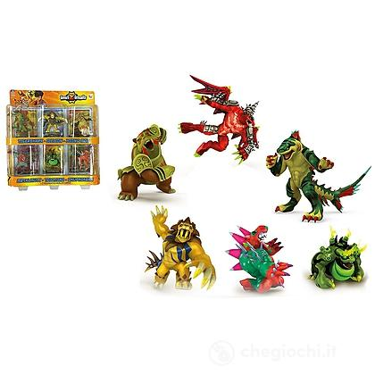 Invizimals pack 6 figure + 6 card (30497)