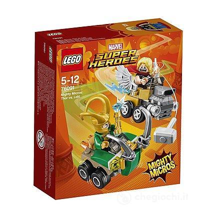 Mighty Micros: Thor contro Loki - Lego Super Heroes (76091)