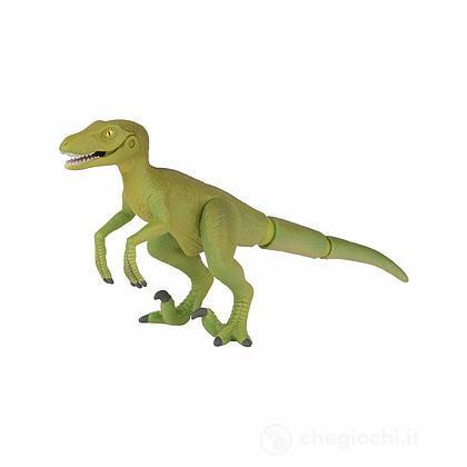 Dinosauro Velociraptor. Animale in plastica con parti snodabili (LCT16051)