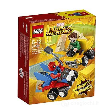 Mighty Micros: Scarlet Spider contro Sandman - Lego Super Heroes (76089)