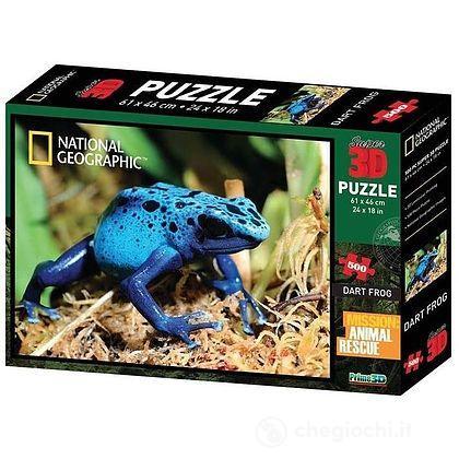 Puzzle 3D Nat Geo: Animal Rescue - Rana dal dardo velenoso