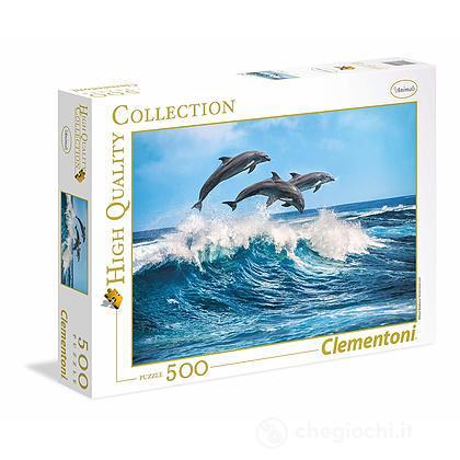Delfini 500 pezzi High Quality Collection (35055)